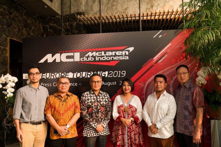McLaren Club Indonesia (MCI) Europe Touring 2019